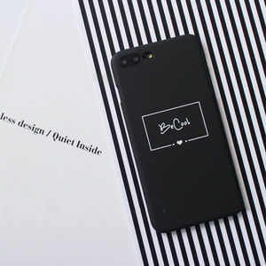 LAST ONE 7/8/7+/8+ iPhone BeCool Letter case